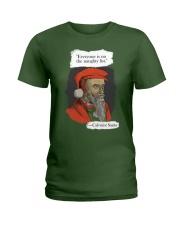 Calvinist Santa Ladies T-Shirt thumbnail