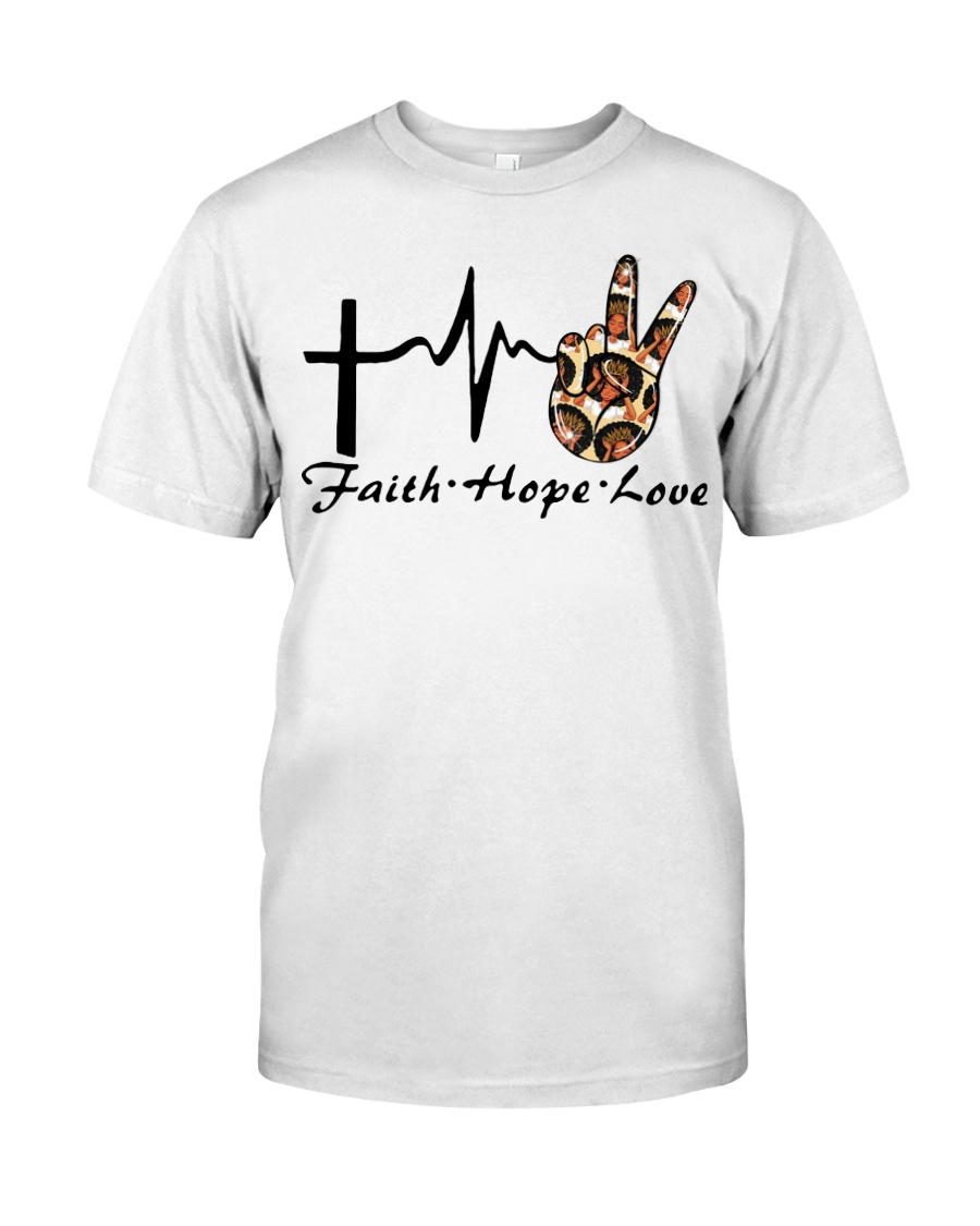 Faith Hope Love 2 Classic T-Shirt