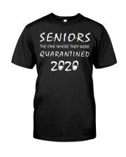 Seniors 2020 Classic T-Shirt front