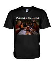 FANGSGIVING V-Neck T-Shirt thumbnail