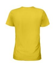 Black Lady Ladies T-Shirt back