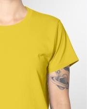 Black Lady Ladies T-Shirt garment-tshirt-ladies-detail-front-sleeve-01