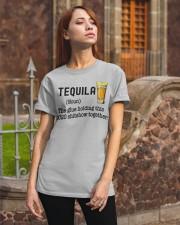 Tequila Wine Classic T-Shirt apparel-classic-tshirt-lifestyle-06