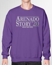 Arenado Story Crewneck Sweatshirt garment-crewneck-sweatshirt-front-01