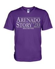 Arenado Story V-Neck T-Shirt thumbnail
