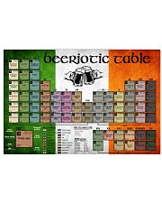 Beeriotic Table  24x16 Poster front