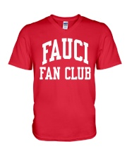Fauci Fan Club V-Neck T-Shirt thumbnail