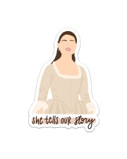She Tells Our Story Sticker Sticker - Single (Vertical) front