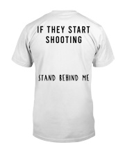 Stand Behind Me Classic T-Shirt back