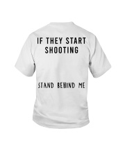 Stand Behind Me Youth T-Shirt thumbnail