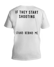 Stand Behind Me V-Neck T-Shirt thumbnail
