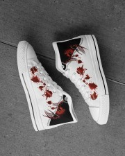 Freddy Blood Men's High Top White Shoes aos-complex-men-white-high-top-shoes-lifestyle-inside-left-outside-left-21