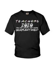 Teacher Quarantined Black Youth T-Shirt thumbnail