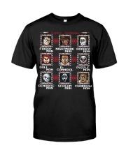 Start Running Horror Classic T-Shirt front