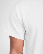 April Birthday Quarantined 2020 Classic T-Shirt garment-tshirt-unisex-detail-front-sleeve-01