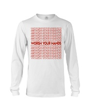 Worsh Your Hands Long Sleeve Tee thumbnail