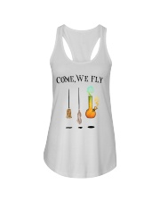 Come We Fly Ladies Flowy Tank thumbnail