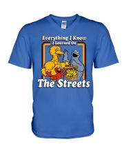 The Streets  V-Neck T-Shirt thumbnail