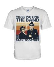 The Band Back Together V-Neck T-Shirt tile