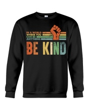 Be Kind In The World Crewneck Sweatshirt thumbnail