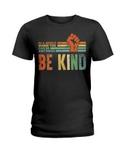Be Kind In The World Ladies T-Shirt thumbnail