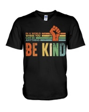 Be Kind In The World V-Neck T-Shirt thumbnail