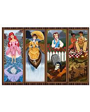 Haunted Mansion Stretching Portraits Mashup 24x16 Poster front