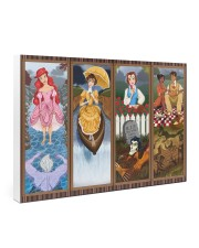 Haunted Mansion Stretching Portraits Mashup 36x24 Gallery Wrapped Canvas Prints thumbnail