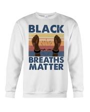 Black Breaths Matter Crewneck Sweatshirt tile
