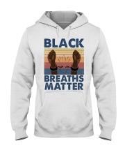 Black Breaths Matter Hooded Sweatshirt tile