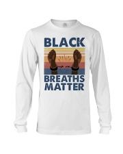 Black Breaths Matter Long Sleeve Tee tile