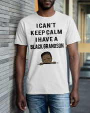 I Have A Black Grandson Classic T-Shirt apparel-classic-tshirt-lifestyle-front-40