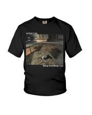 Doing Everything I Can Youth T-Shirt thumbnail