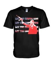 Martin Luther King V-Neck T-Shirt tile