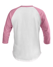 Cancer Messed With Wrong Heifer Baseball Tee back