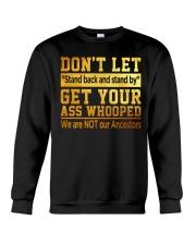 Don't Let Crewneck Sweatshirt thumbnail
