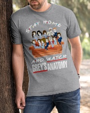 Stay Home And Watch Grey's Anatomy Classic T-Shirt apparel-classic-tshirt-lifestyle-front-51