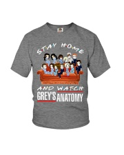 Stay Home And Watch Grey's Anatomy Youth T-Shirt thumbnail