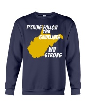 Follow The Guidelines WV Strong Crewneck Sweatshirt thumbnail