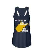 Follow The Guidelines WV Strong Ladies Flowy Tank thumbnail