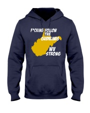 Follow The Guidelines WV Strong Hooded Sweatshirt thumbnail