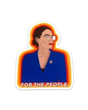For The People Sticker - Single (Vertical) front