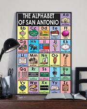Alphabet of San Antonio Poster 11x17 Poster lifestyle-poster-2