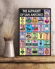 Alphabet of San Antonio Poster 11x17 Poster lifestyle-poster-3