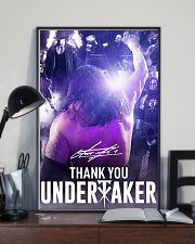 Thank You Under Taker Poster 11x17 Poster lifestyle-poster-2