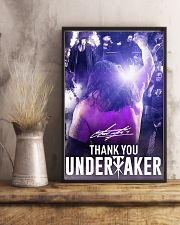 Thank You Under Taker Poster 11x17 Poster lifestyle-poster-3