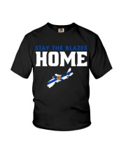 Stay The Blazes Home 2 Youth T-Shirt thumbnail