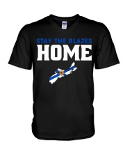 Stay The Blazes Home 2 V-Neck T-Shirt thumbnail