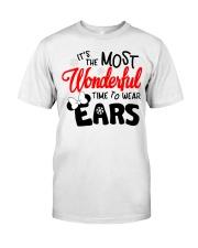 Time To Wear Ears Classic T-Shirt thumbnail