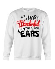 Time To Wear Ears Crewneck Sweatshirt thumbnail